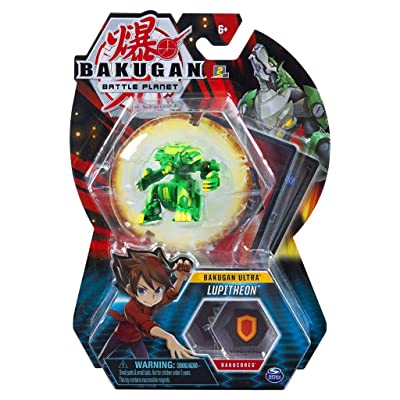 Bakugan Ultra - Ventus Lupitheon - 3-inch Tall Collectible Transforming Creature, for Ages 6 and Up - Wave 6: Toys & Games