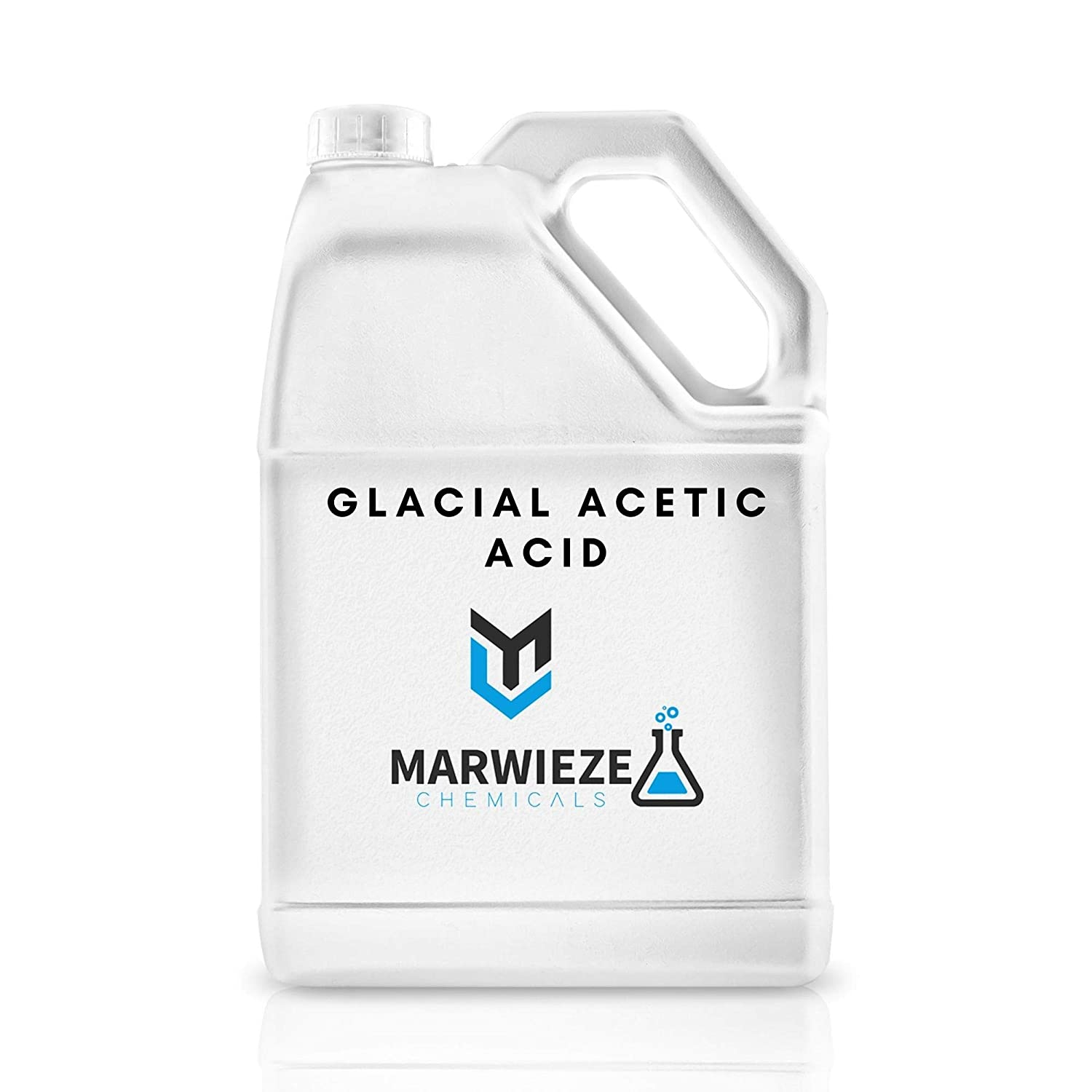 Glacial Acetic Acid – 1 Gallon Food Grade Acetic Acid – Highly Concentrated Formula – Ideal for Cooking, Salads, Pickles, Marinating