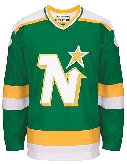 06e042bd9 Amazon.com   adidas Minnesota North Stars CCM NHL Men s Team Classic ...