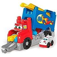 Mega Bloks Juguete Vehículo de Construcción Transformable, 12 Piezas