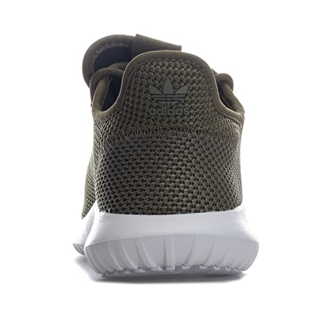 920693446d0 Amazon.com  adidas Originals Boy s Tubular Shadow Knit Trainers US5.5  Green  Shoes