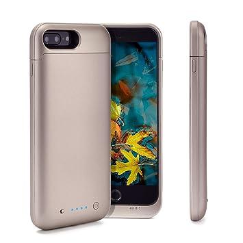 Funda para iPhone 8 Plus/7 Plus con batería KULOCO 7000mAh ...