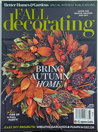Better Homes U0026 Gardens Fall Decorating 2017 Bring Autumn Home