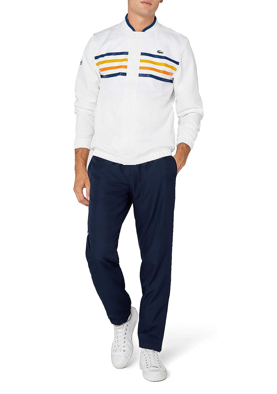 Multicolour (white Marino-bouton D Or- Hzj) 3XL Lacoste Sport Men's WH3140 Tracksuit, Multicolour (white Marino-Bouton D OR- HZJ), X-Small