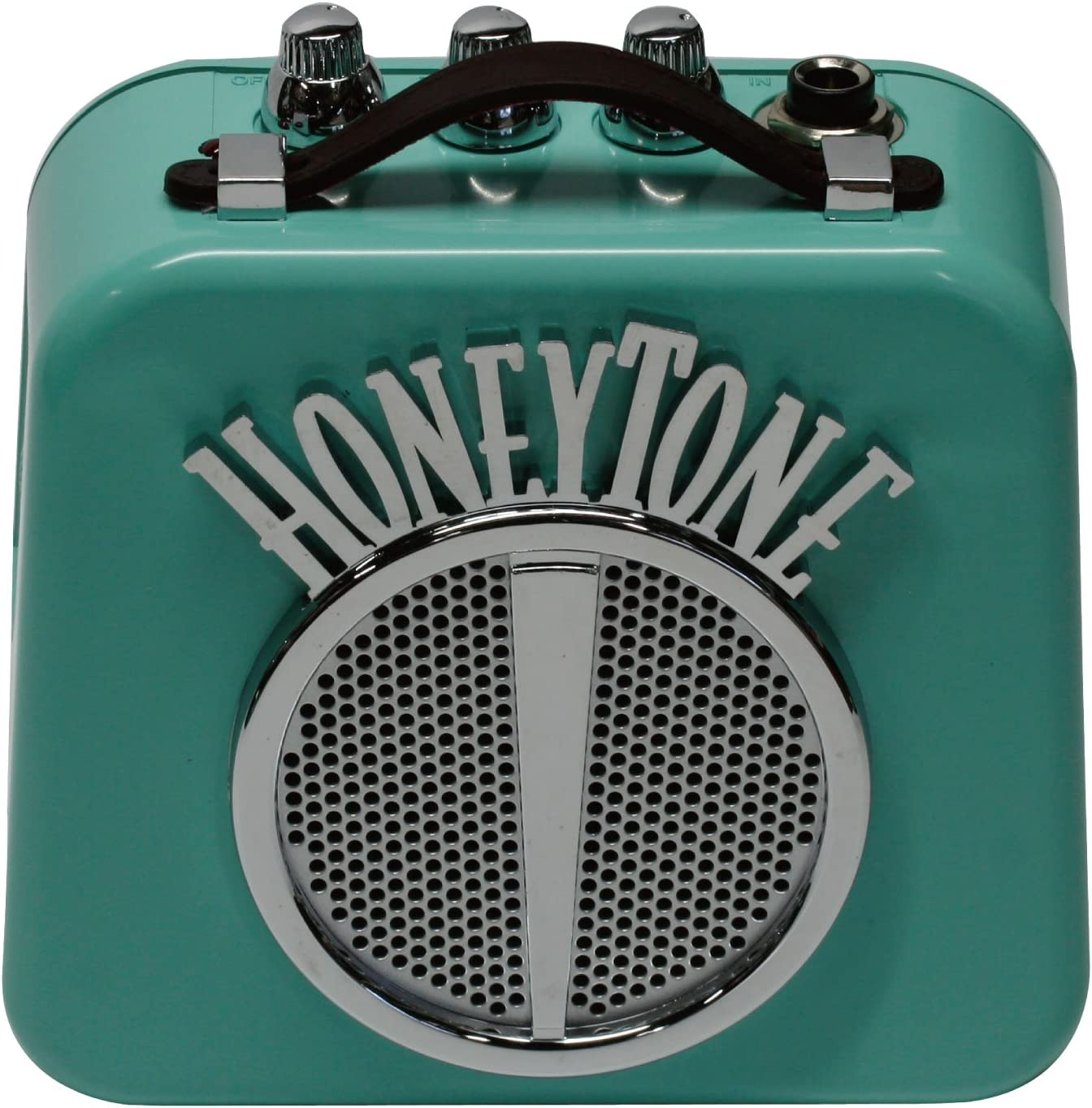 Danelectro Honeytone N-10 Mini - Combo de guitarra, color azulado