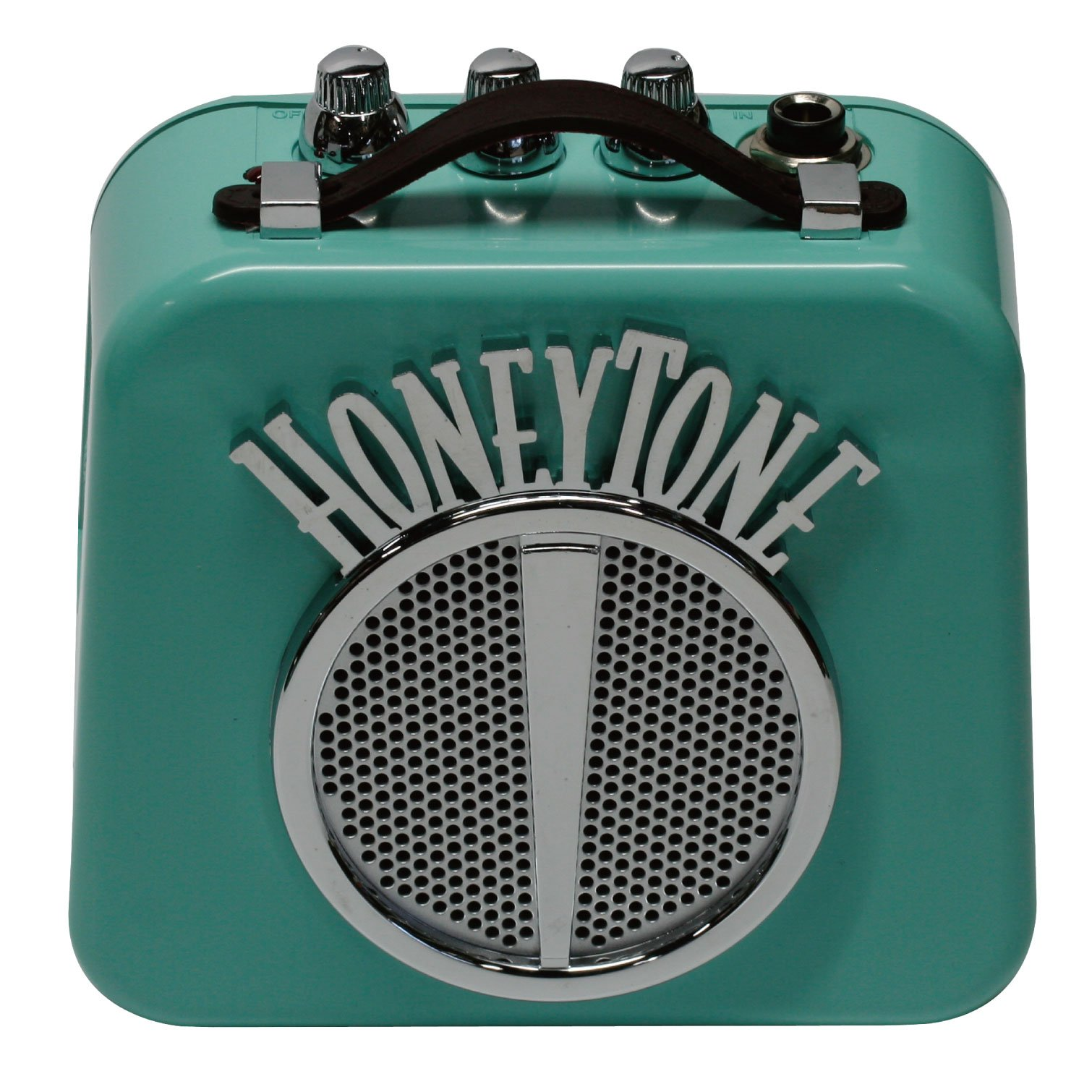 Danelectro Honeytone N-10 Guitar Mini Amp, Aqua by Danelectro