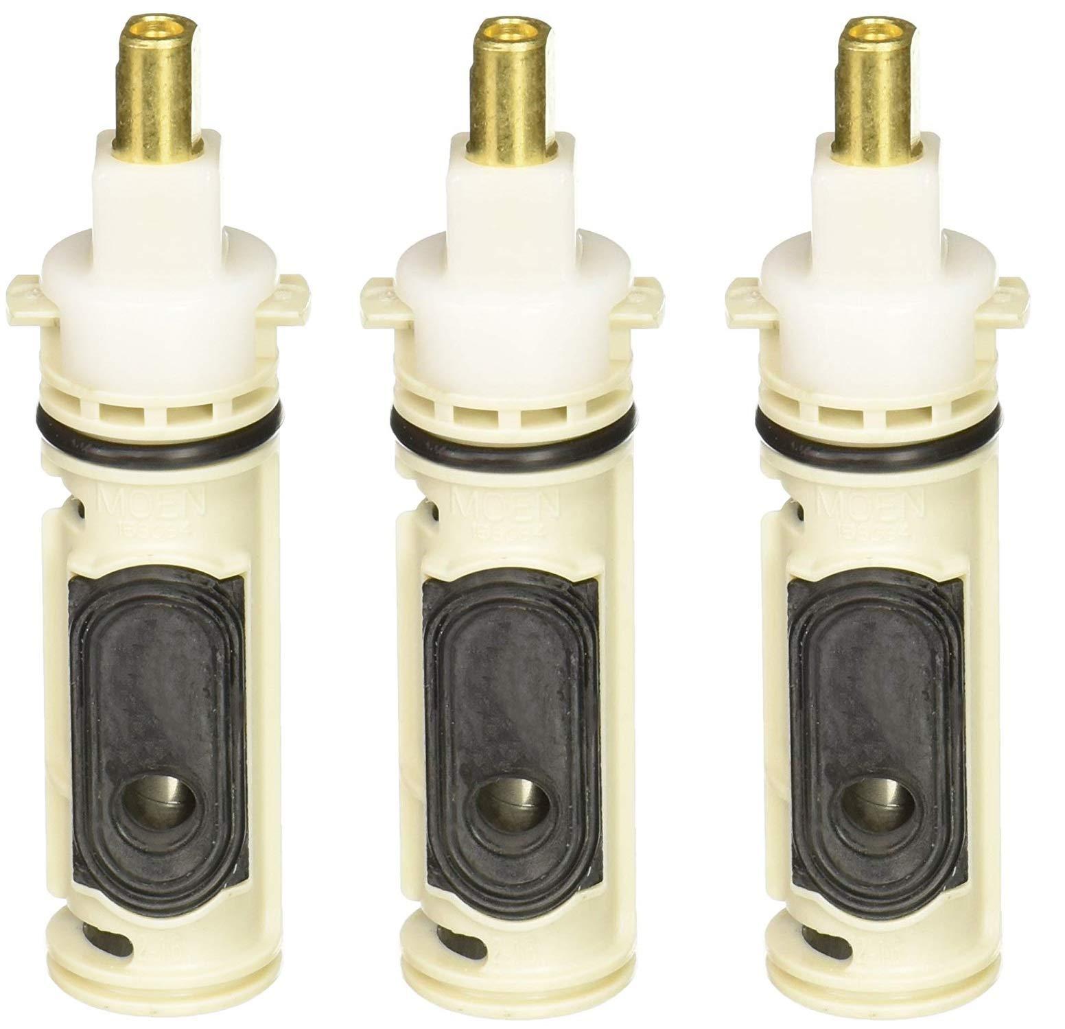 Moen 1222B Repair Part Single Handle Posi-Temp Replacement Cartridge (Pack of 3)