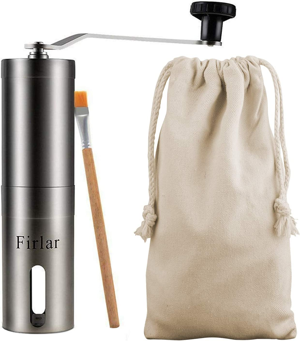 Firlar Premium Manual Stainless Steel Coffee Grinder