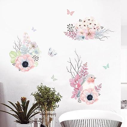 Amazon Com Cjh Wall Stickers Creative Bedroom Warm Little Fresh