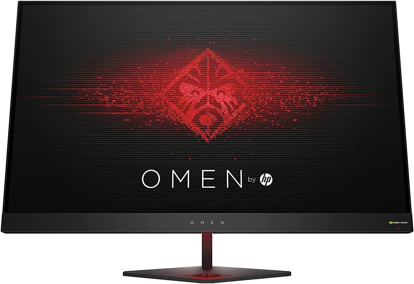 OMEN 27 by HP 27 Inch Gaming Monitor QHD 165Hz 1ms NVIDIA G-SYNC (Black Aluminum)