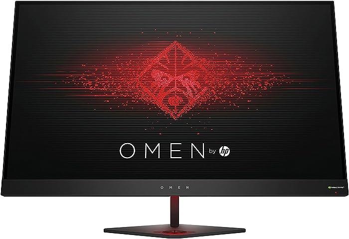 OMEN 27 by HP 27 Inch Gaming Monitor QHD 165Hz 1ms NVIDIA G-SYNC (Black Aluminum)