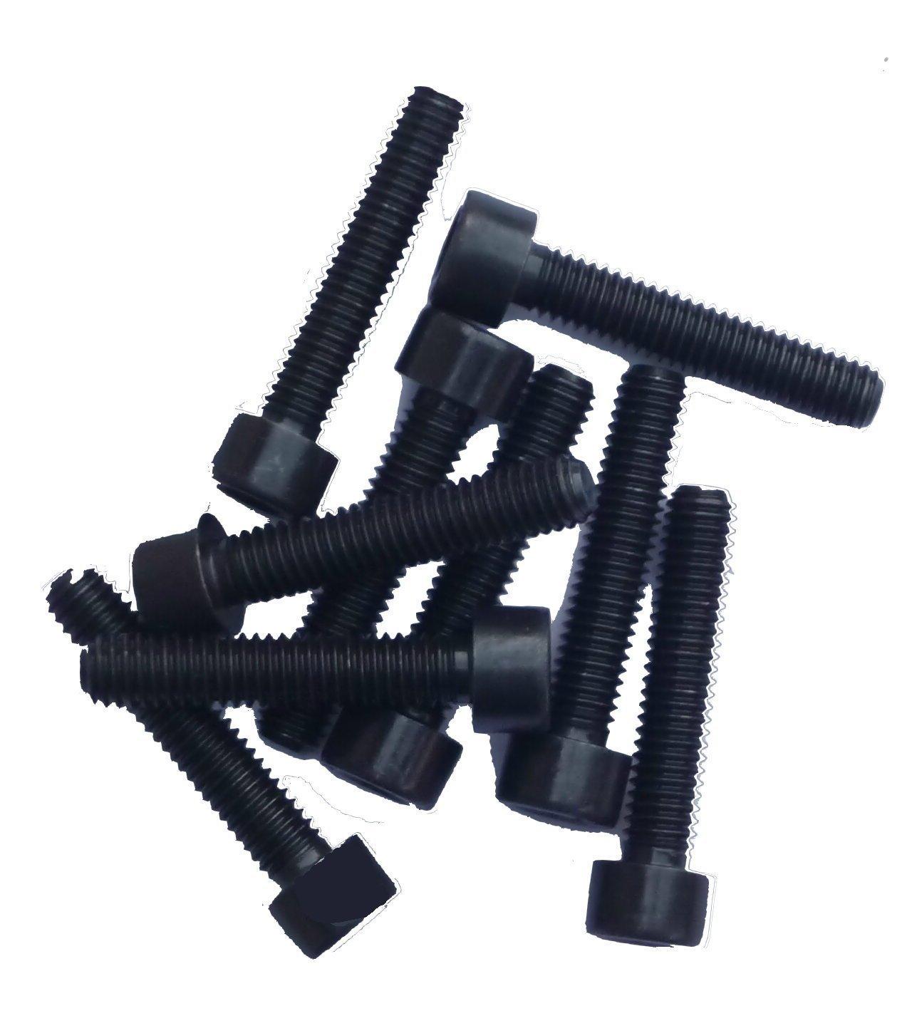 schwarz blank M6x25 Zylinderschrauben mit Innensechskant DIN 912 Kl.12.9 25 St/ück