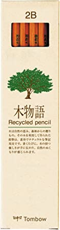 トンボ鉛筆 鉛筆 木物語 2B 1ダース LA-KEA2B