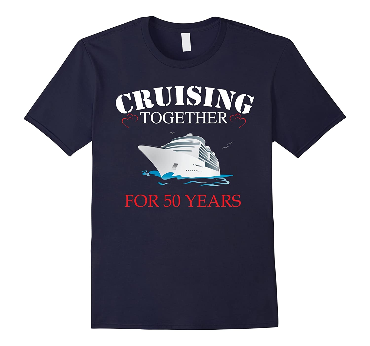 50th Wedding Anniversary Gifts . Meaningful Tshirts-Art