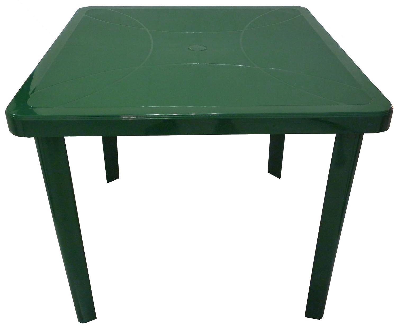Tavolo Di Plastica Da Esterno.Giardino E Arredamento Esterni Tavolo Tavolino Quadrato 80x80