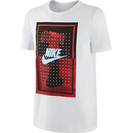 5131119b2430d3 Amazon.com  Nike Goddess Dot Men s T-Shirt White Ice 666550-100 ...