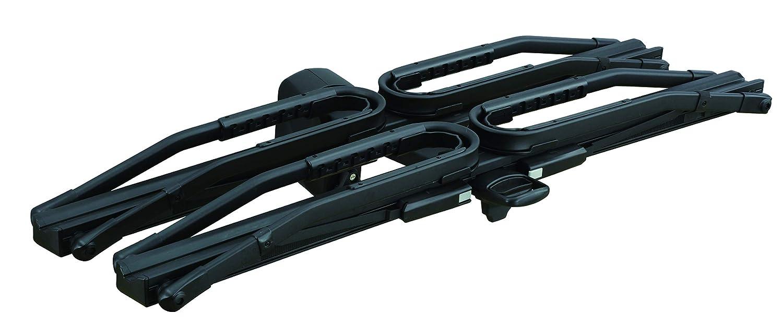 INNO Tire Hold Hitch Mount Platform Rack E-Bike Compatible up to 60lbs per Bike