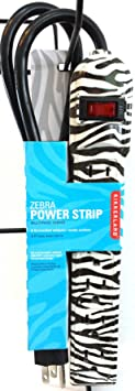Review Zebra Print 6-outlet Power