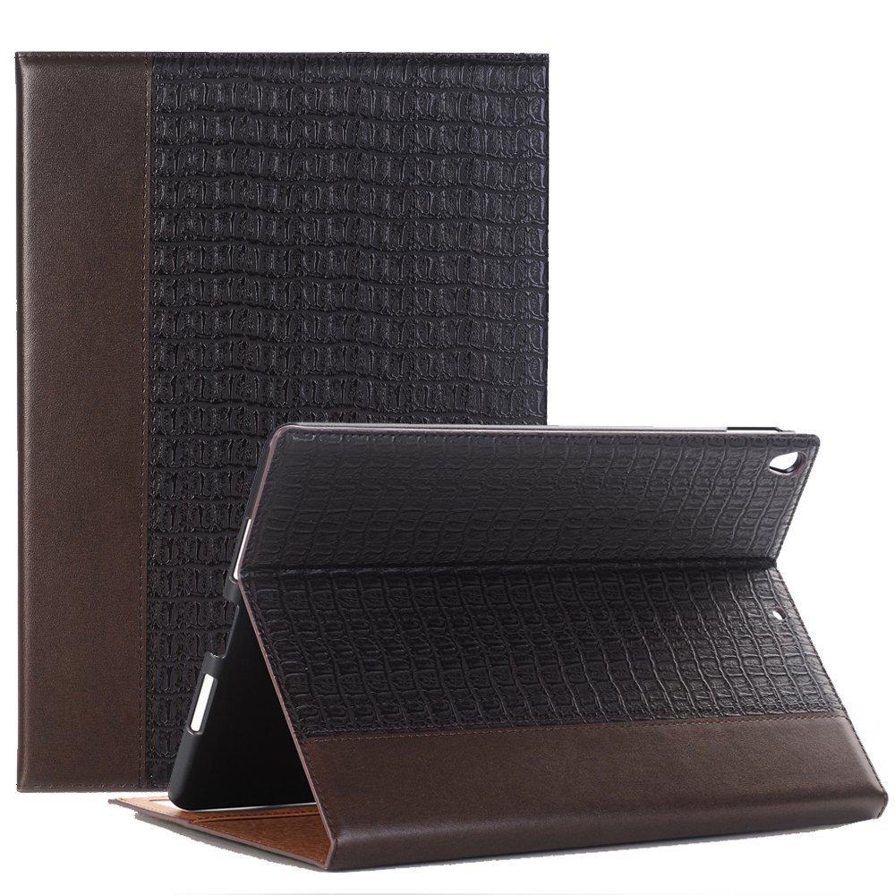 プレミアムレザービジネスFolding Stand Folio Cover for iPad iPad Mini 4 SMD-EYPP-MN4-BN B079CBDVQY  ブラウン iPad Mini 4