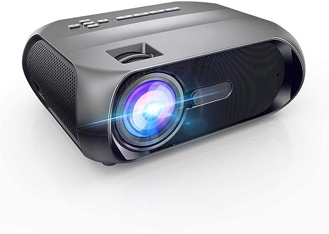 Proyector WiFi Mini Proyector Portátil BOMAKER 5500 Lúmenes Full HD 1080P y 300