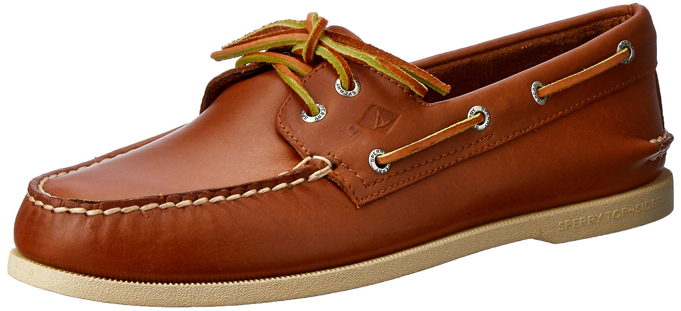 Sperry Top-Sider Men's A/O 2 Eye Tan Boat Shoe 11.5 W (EE)