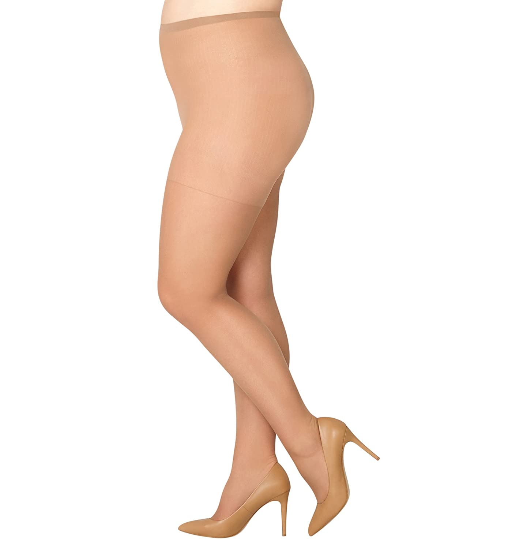 AVENUE Women's Daysheer Pantyhose with Spandex 220941482