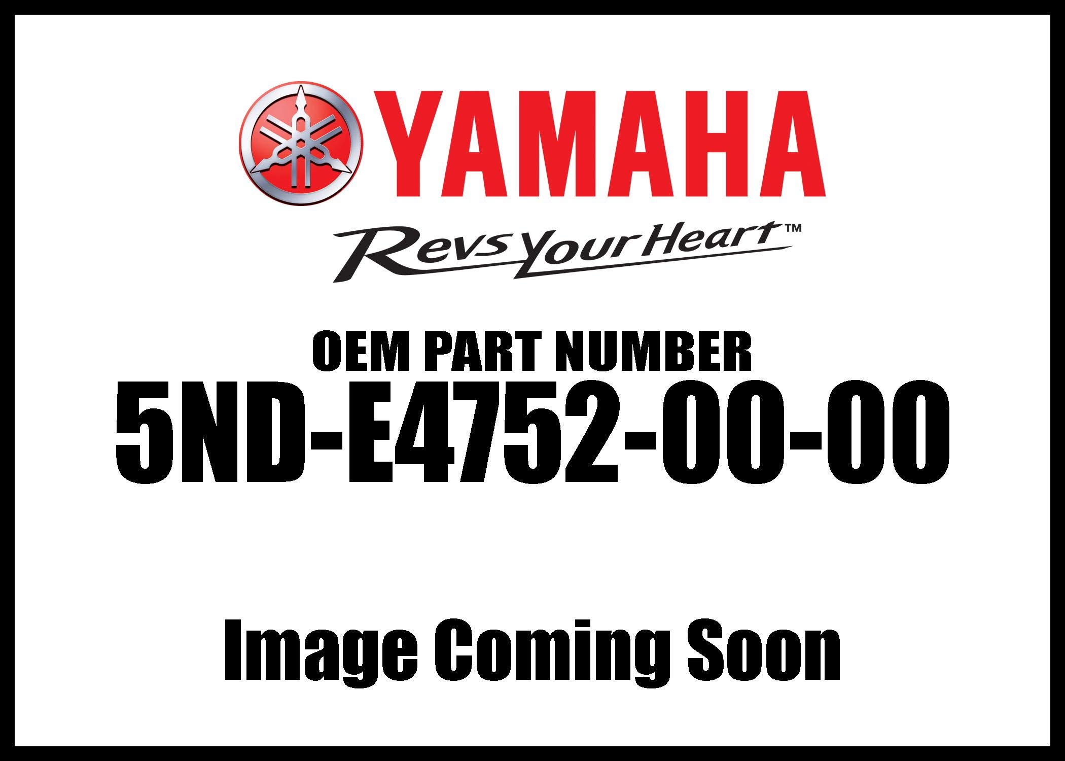 Yamaha 5ND-E4752-00-00 Pipe, Outlet; ATV Motorcycle Snow Mobile Scooter Parts