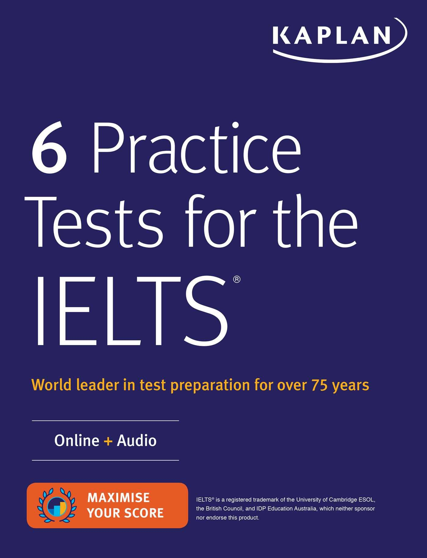 6 Practice Tests for the IELTS Online + Audio