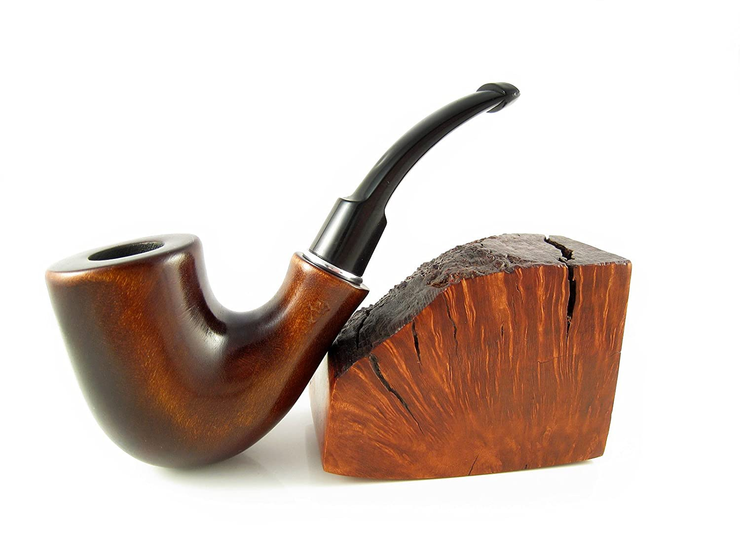 Fashion Pipes Set - Watson Pear Tobacco Smoking Pipe Smooth and Tamper Tools, Designed for Pipe Smokers