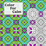 Color For Calm: Stress-relieving coloring book for grown-ups (Adult Coloring Patterns) (Volume 5)