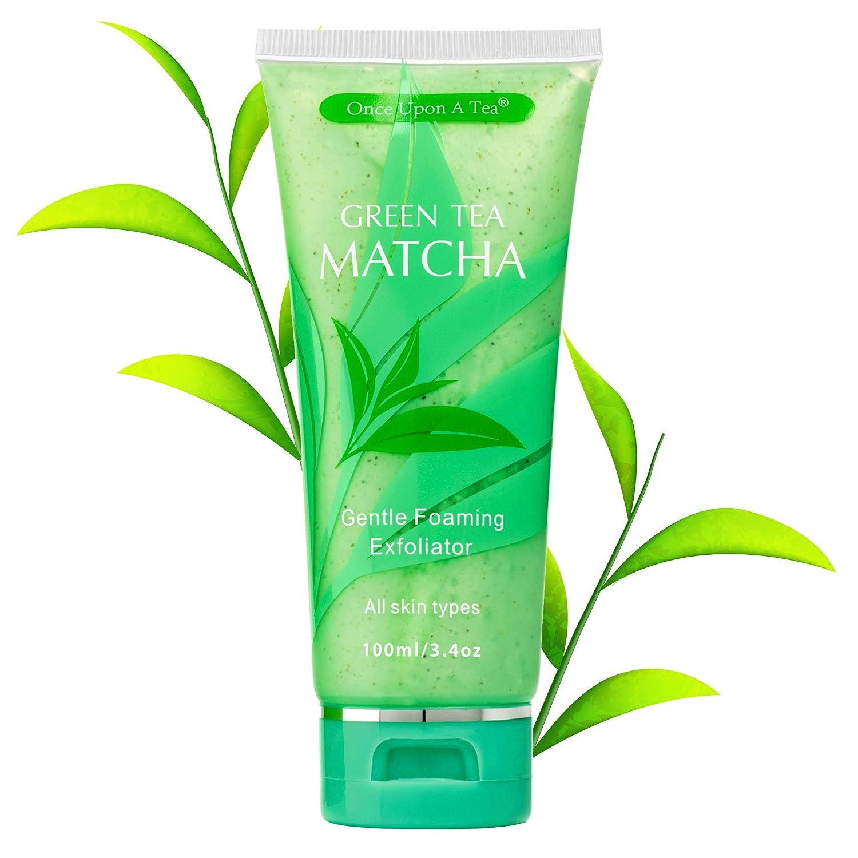 Amazon Com Green Tea Matcha Gentle Foaming Exfoliator Best