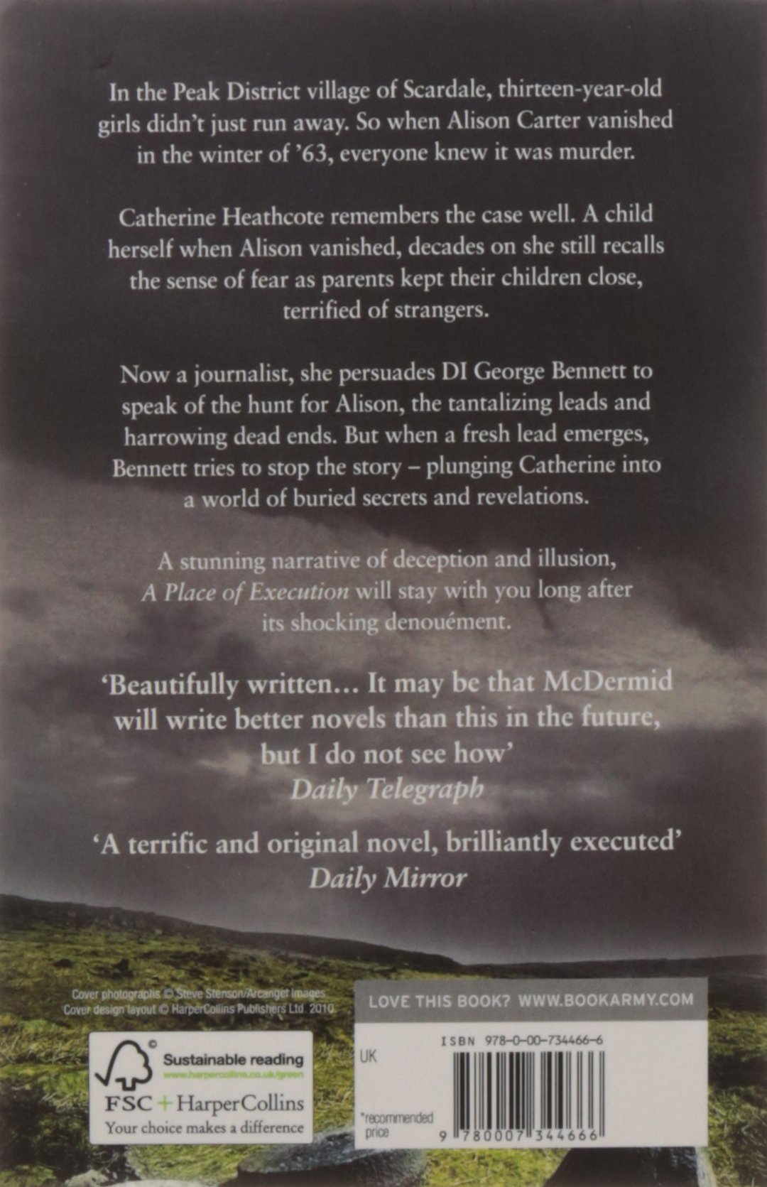 A Place of Execution: VAL MCDERMID: 8601405281807: Amazon.com: Books