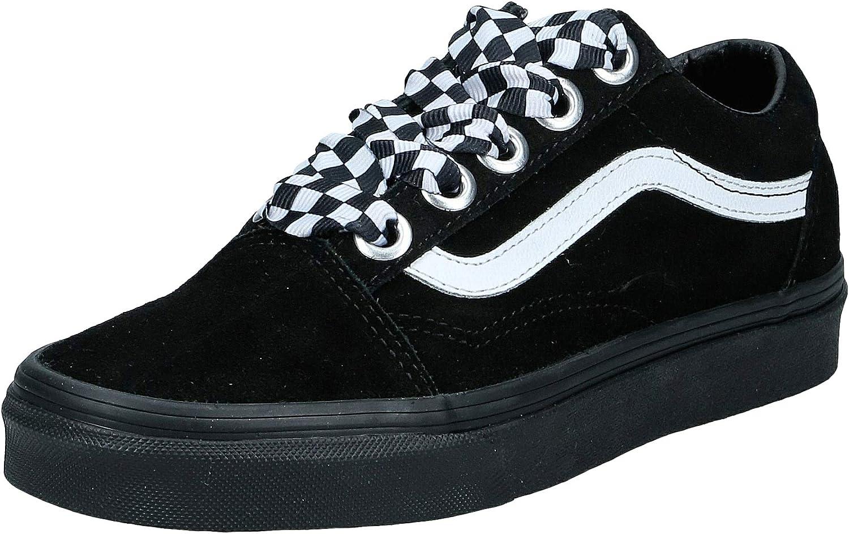 Vans Old Skool - Check Lace/Black/Black