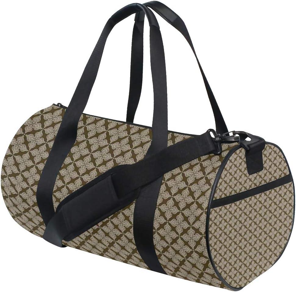 Vintage Damask Weekender//Overnighter Bag