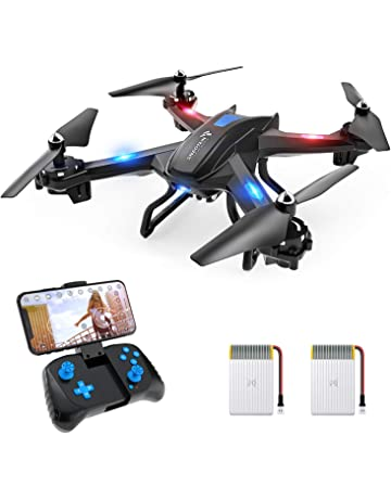 0b82a8250b8 SNAPTAIN S5C WiFi FPV Drone with 720P HD Camera, Voice Control, Gesture  Control RC