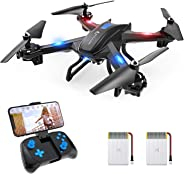 SNAPTAIN S5C WiFi FPV Drone with 720P HD Camera, Voice Control, Gesture Control RC Quadcopter for Beginners with Altitude Ho