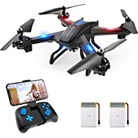 SNAPTAIN S5C WiFi FPV Drone with 720P HD Camera,Voice Control, Wide-Angle Live Video RC…