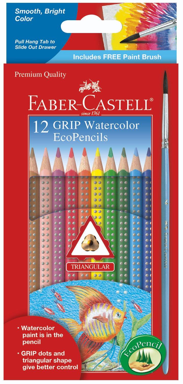 Faber Castell 12 Lápices ecológicos de colores (xmp)