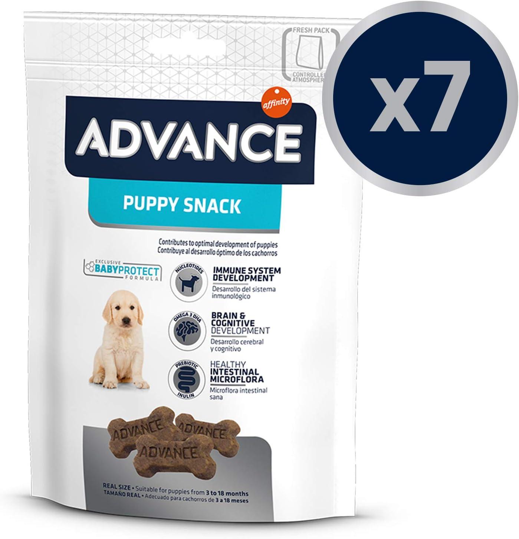Advance Snacks Para Perro Puppy - Paquete de 7 x 150 gr - Total 1050 gr