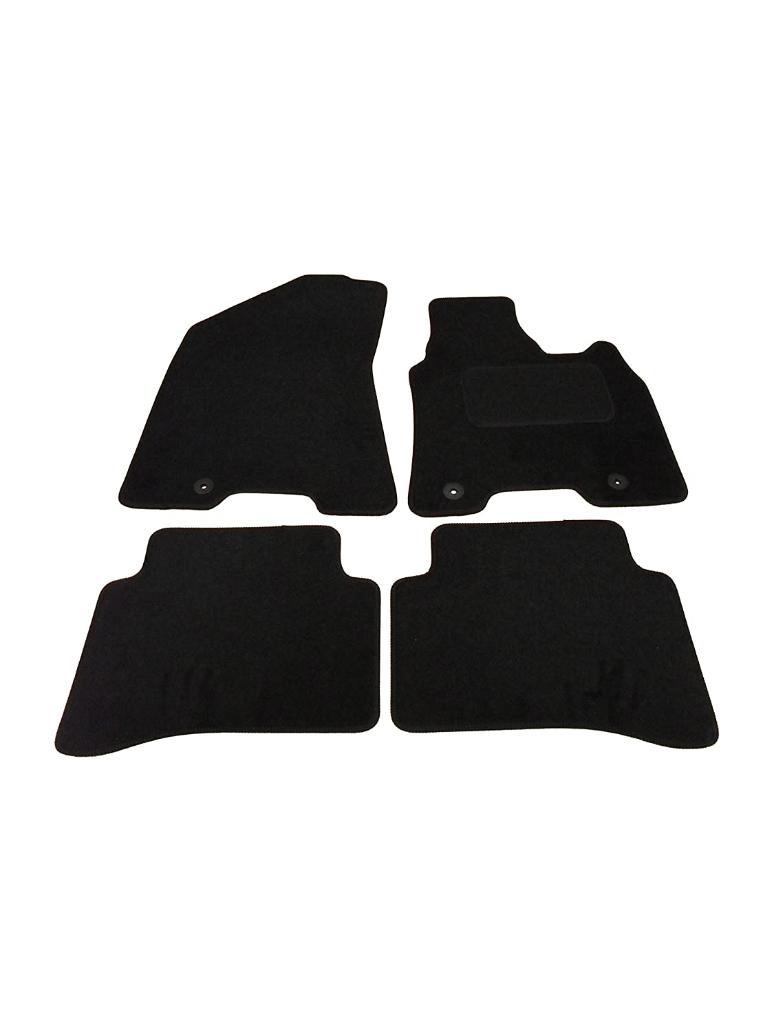 Fully Tailored Deluxe Car Mats in Black click