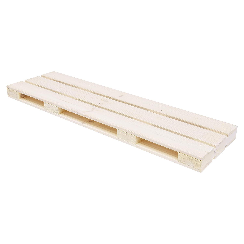 DURAline Shelving Tablette Palette, Bois, Pin, 80 x 23.5 x 4.6 cm FETIM 1192629