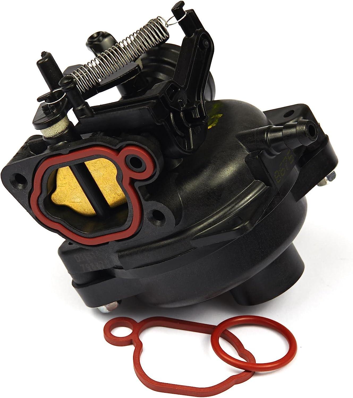 EVIL ENERGY 799584 Carburetor W//Air Filter Spark Plug Kit Replacement for 09P000 Model Briggs /& Stratton Husqvarna Mower