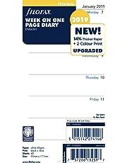Filofax 19-68426 Personal Week Per Page 2019 Diary