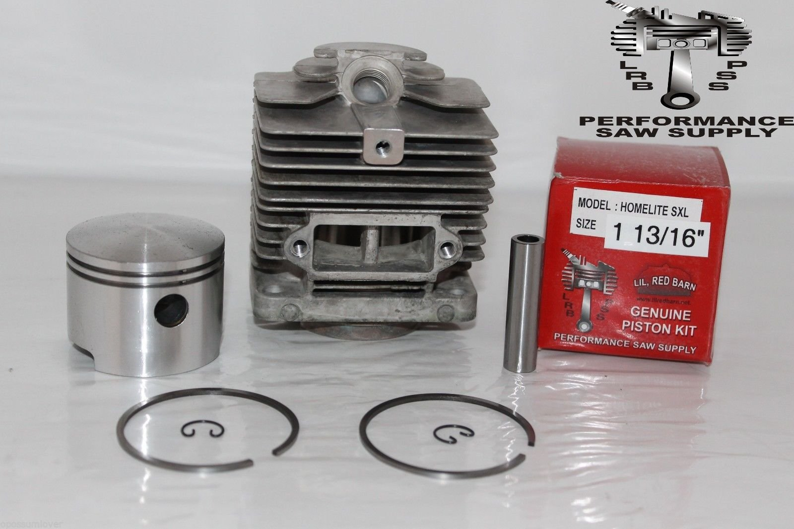 Homelite Super XL, Big Red, Old Blue, XL12 Cylinder & Piston Assembly, 1 13/16'' 2 Day Standard Shipping!