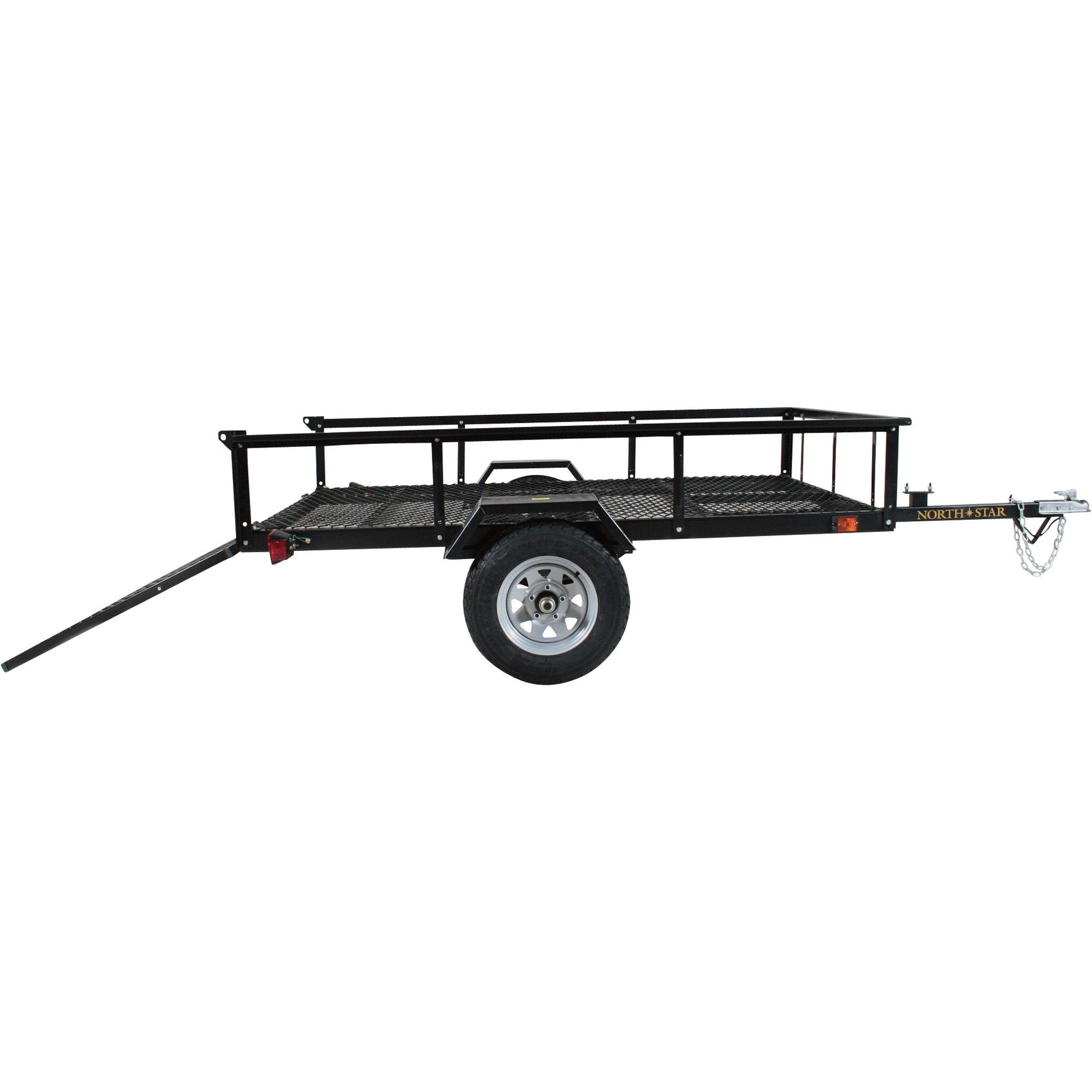 - North Star Trailer Loadstar I-XL Utility/ATV Trailer Kit - 5ft. x 8ft. by North Star Trailer