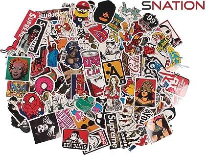 Assorted Skateboard Sticker Pack