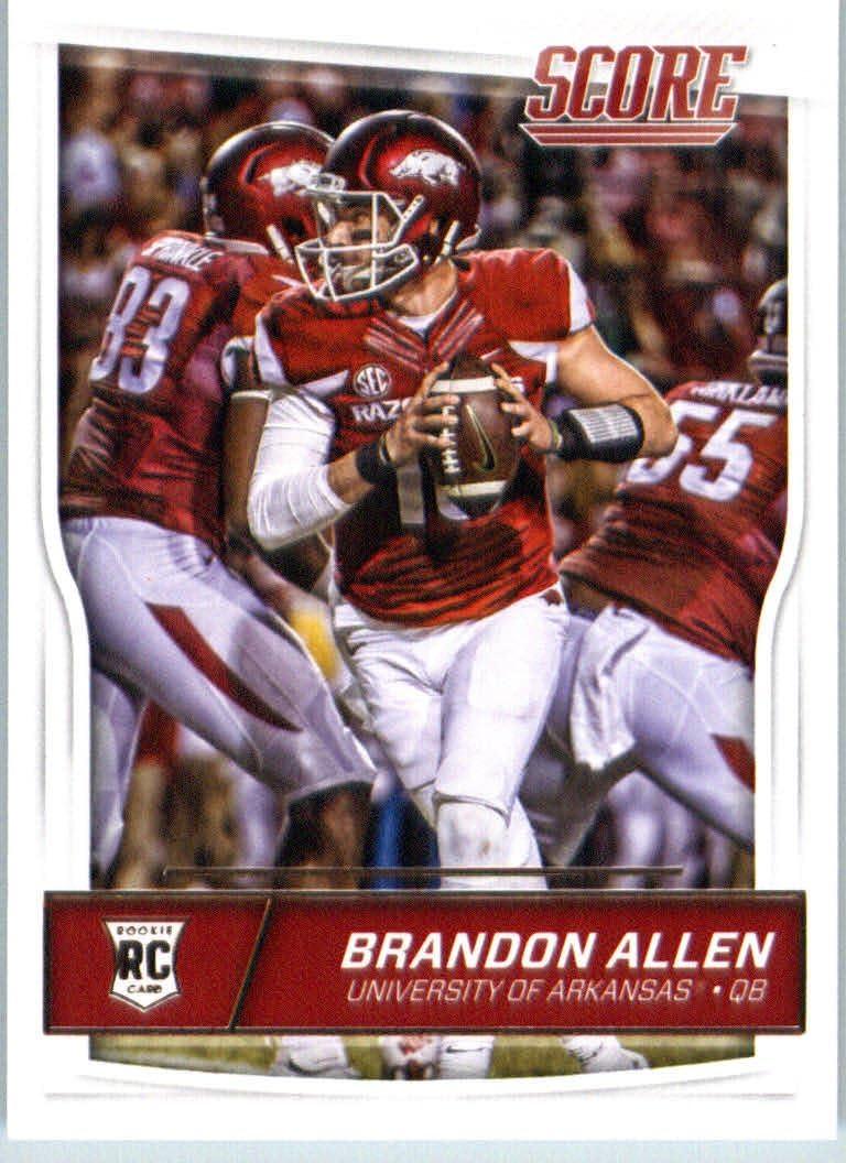 2016 Score #428 Brandon Allen Arkansas ... - Amazon.com