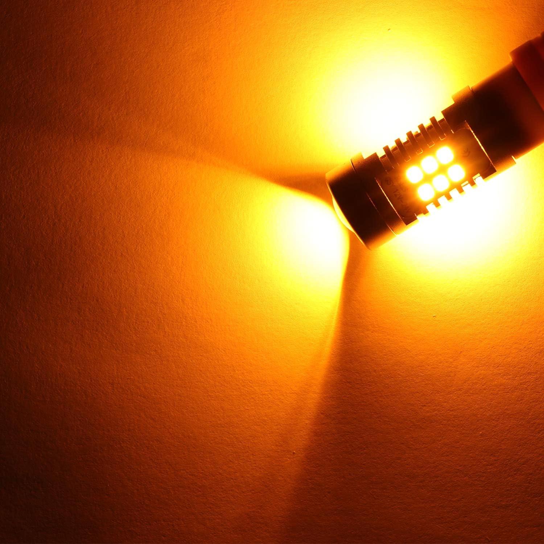 1156 1003 BA15S P21W 1156A Turn Signal Bulbs Light 21 SMD Super Bright Blinker Bulb Tail Light LED Bulb 2835 Chips Lights Lamps Set of 2