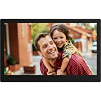 NIX Advance Digital Photo Frame 17.3 inch X17B. Electronic Photo Frame USB SD/SDHC. Clock and Calendar Function. Digital Picture Frame with Motion Sensor. Remote Control and 8GB USB Stick Included