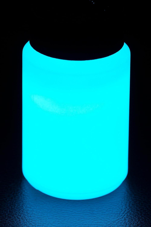 NighTec, Nachtfarbe, 100 ml, Leuchtfarbe mit intensiver Leuchtkraft ...